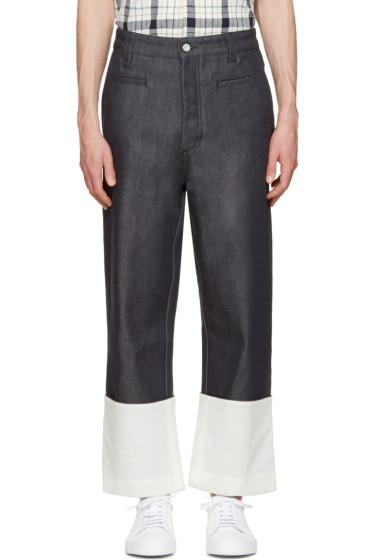 Loewe - Navy Fisherman Jeans