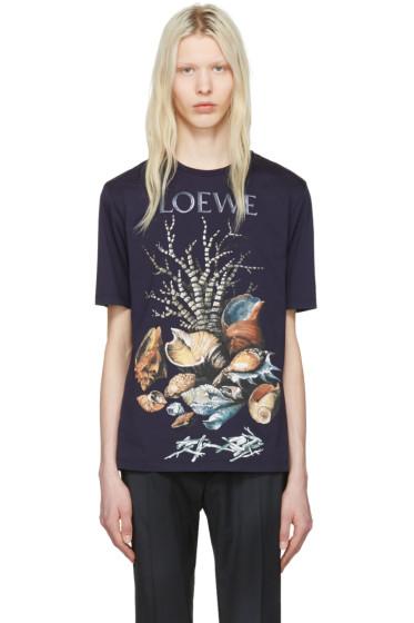 Loewe - Indigo Shell Still Life T-Shirt