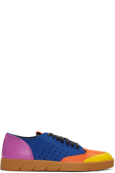 Loewe - Multicolor Leather Sneakers