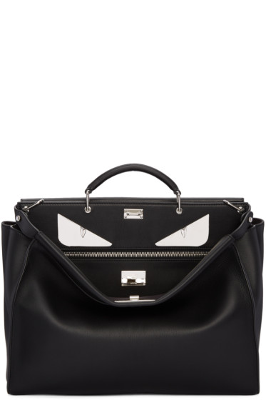 Fendi -  Black Eyes Peekaboo Tote