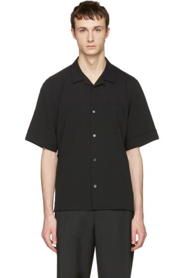 Wooyoungmi - Black Bowling Shirt