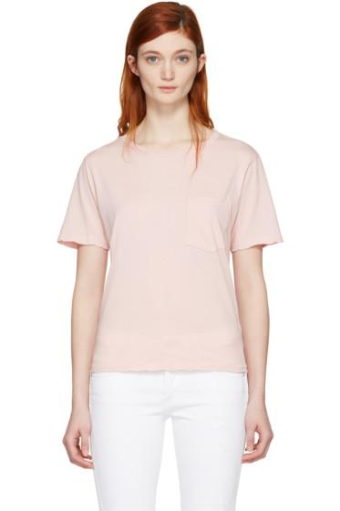 Amo - Pink Tomboy Pocket T-Shirt