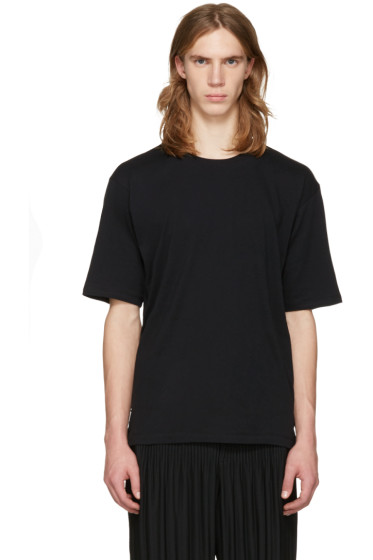 Issey Miyake Men - Black Bio Cotton T-Shirt