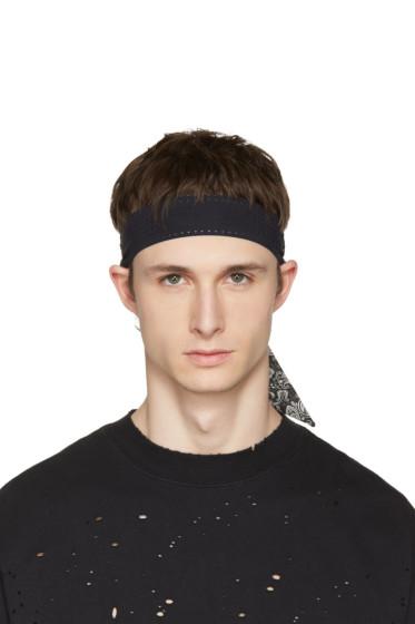 Satisfy - Black Bandana Headband