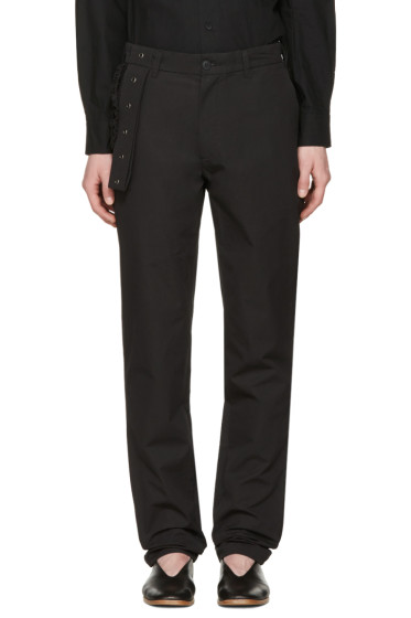 Craig Green - Black Slim Trousers