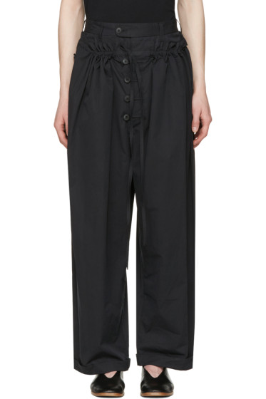 Craig Green - Black Tailored Pyjama Trousers