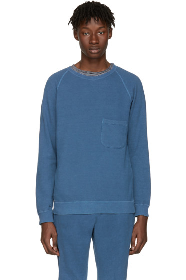 Blue Blue Japan - Indigo Pocket Pullover