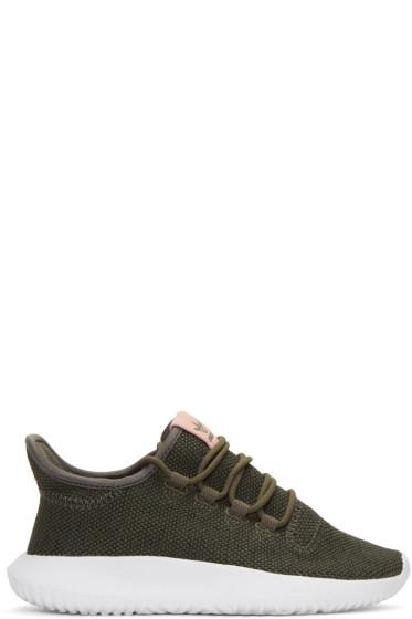 adidas Originals - Green Tubular Shadow Sneakers