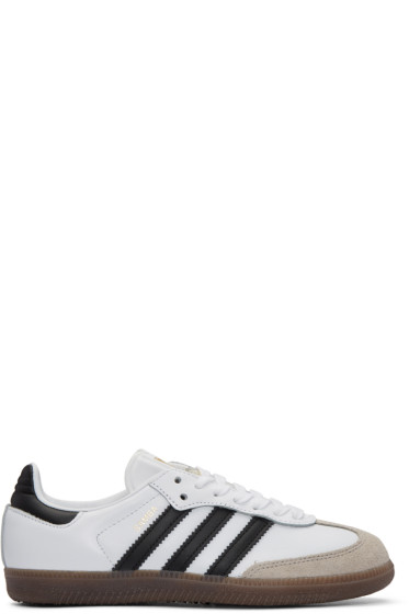 adidas Originals - White Samba Original Sneakers