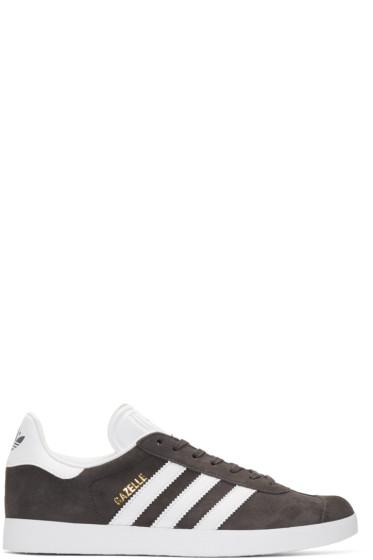 adidas Originals - Grey Gazelle Sneakers