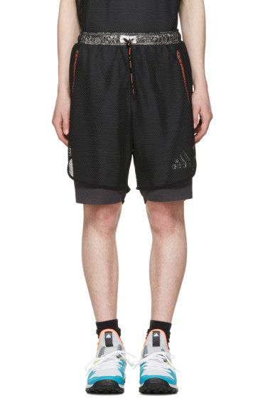 Adidas x Kolor - Black Climachill Shorts