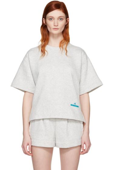 adidas by Stella McCartney - Grey Yoga Pullover