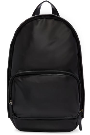 Haerfest - Black Leather H1 Backpack