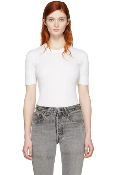 Courrèges - White Classic Pullover