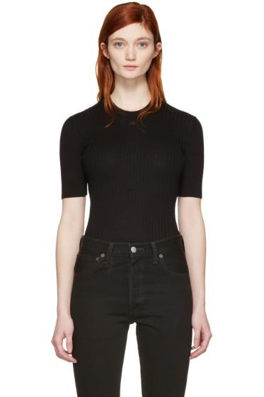 Courrèges - Black Classic Pullover
