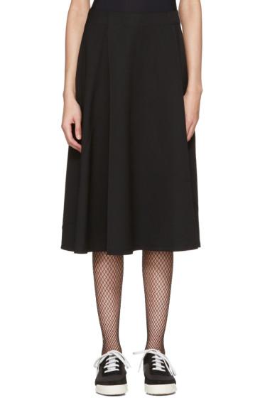 Tricot Comme des Garçons - Black Asymmetric Skirt