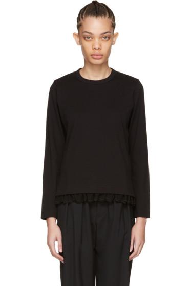 Tricot Comme des Garçons - Black Frill T-Shirt