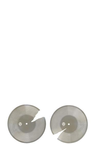 Ambush - Silver SSS Record Earrings