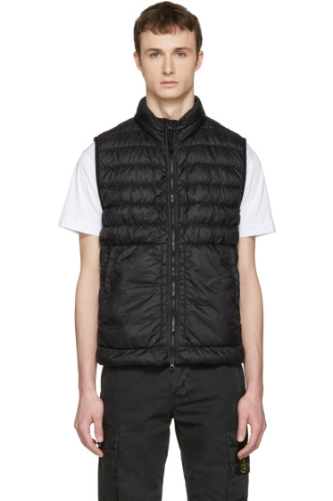 Stone Island - Black Down Packable Vest