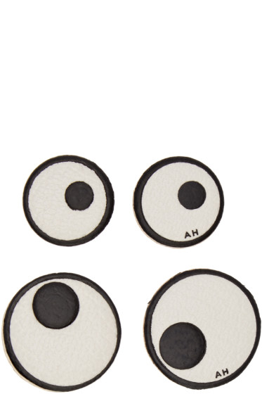 Anya Hindmarch - Four-Pack Ivory Eyes Stickers