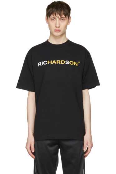 Richardson - Black Logo T-Shirt
