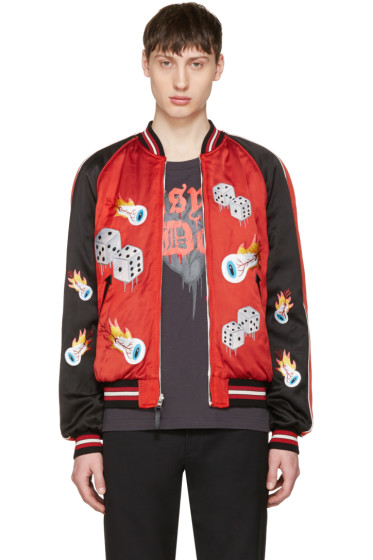Coach 1941 - Reversible Red 'Tough Luck' Souvenir Jacket