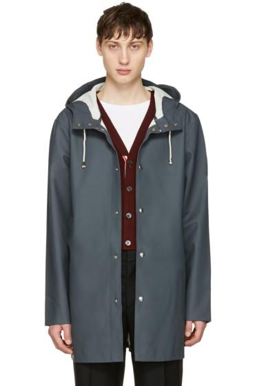 Stutterheim - Grey Stockholm Raincoat