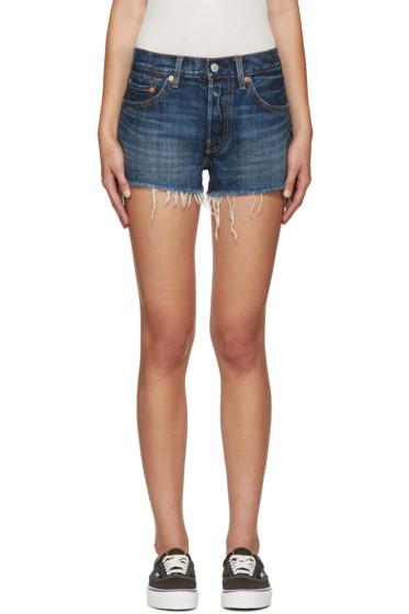 Levi's - Indigo Denim 501 Shorts