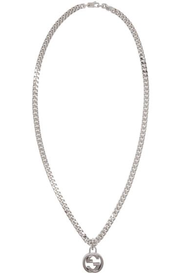 Gucci - Silver GG Necklace