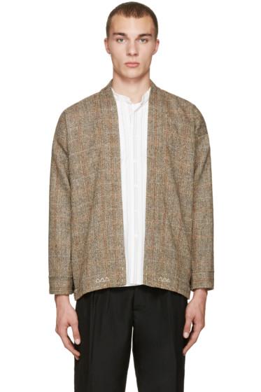 Visvim - Beige Tweed Sanjuro Jacket