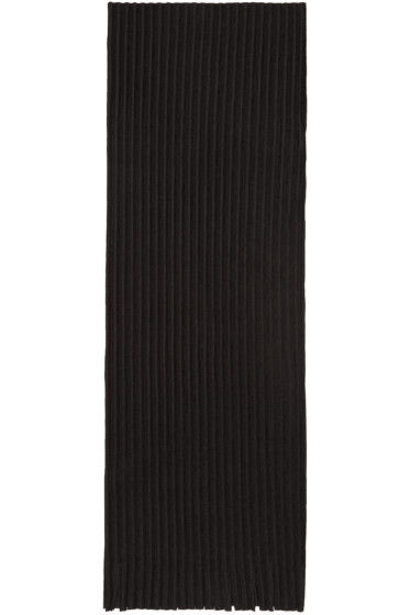 Homme Plissé Issey Miyake - Black Pleated Scarf