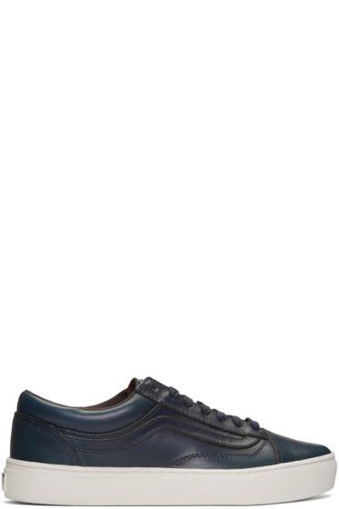 Vans - Navy Horween Edition Old Skool Cup LX Sneakers