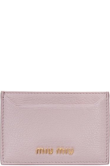 Miu Miu - Pink Card Holder