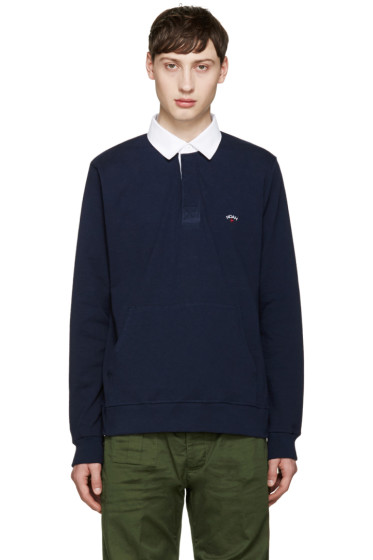 Noah - Navy Rugby Polo