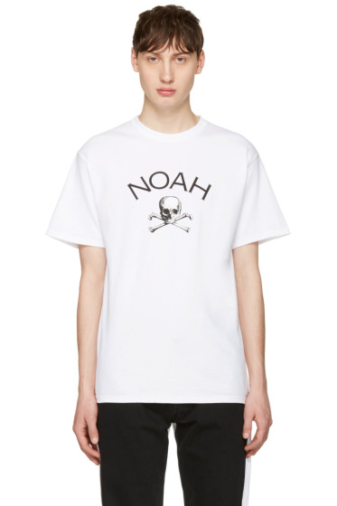 Noah - White Jolly Roger T-Shirt