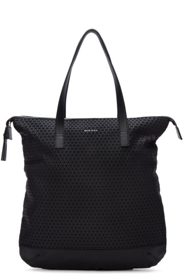 Diesel - Black M-Move To Tote Bag