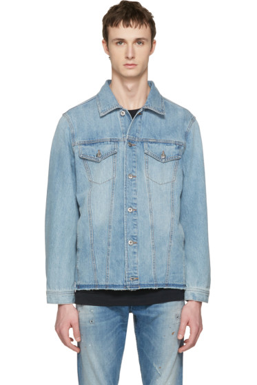 Diesel - Blue Denim Nhill-Re Jacket
