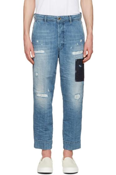 Diesel - Blue Chino Jeans