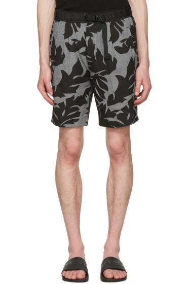 Diesel - Black P-Pollack Printed Shorts