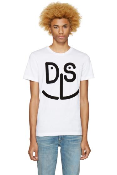 Diesel - White T-Diego-Md T-Shirt
