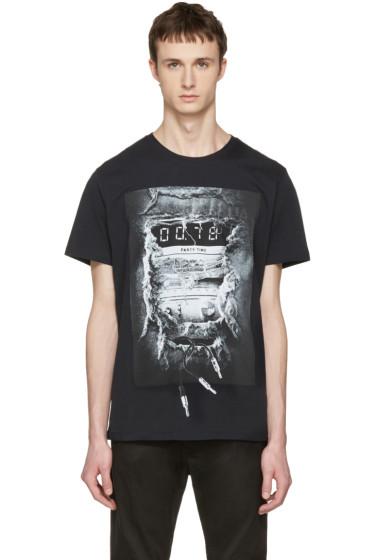 Diesel - Black T-Joe-OA 'Party Time' T-Shirt