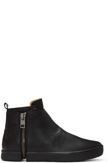 Diesel - Black S-Leeve High-Top Sneakers