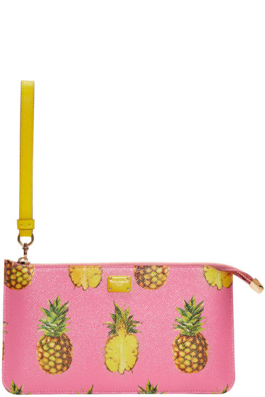 Dolce & Gabbana - Pink Pineapple Pouch