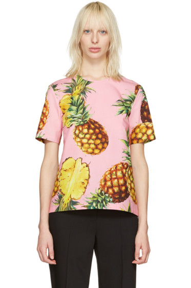 Dolce & Gabbana - Pink Pineapple Blouse