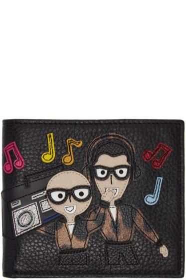 Dolce & Gabbana - Black Designers Boombox Wallet