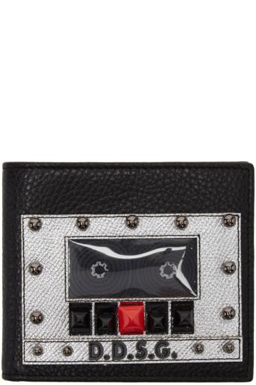 Dolce & Gabbana - Black Boombox Wallet