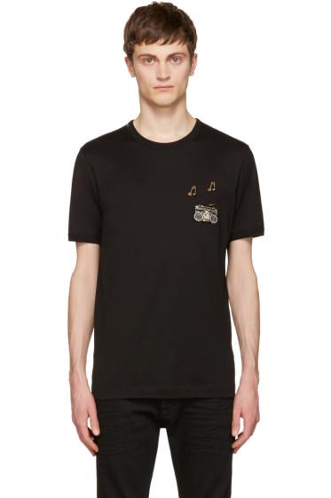 Dolce & Gabbana - Black Boombox T-Shirt