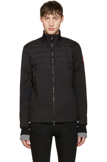 Canada Goose - Black Down Jericho Beach Jacket