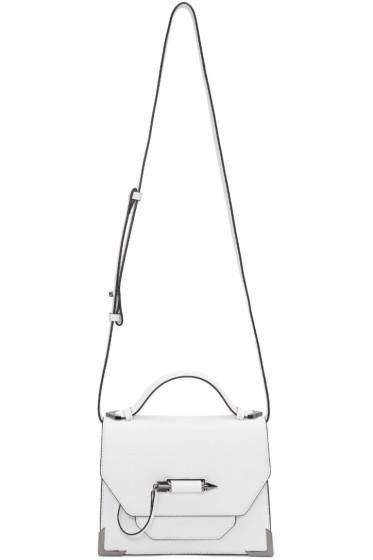 Mackage - White Small Keeley Messenger Bag