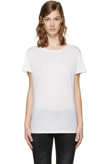 R13 - White Classic T-Shirt